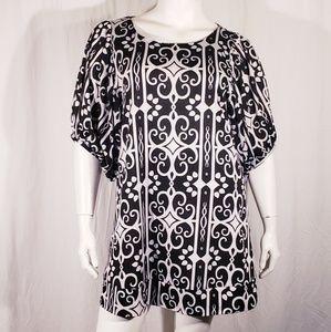 3/$20 Lapis vintage print dress size xlarge